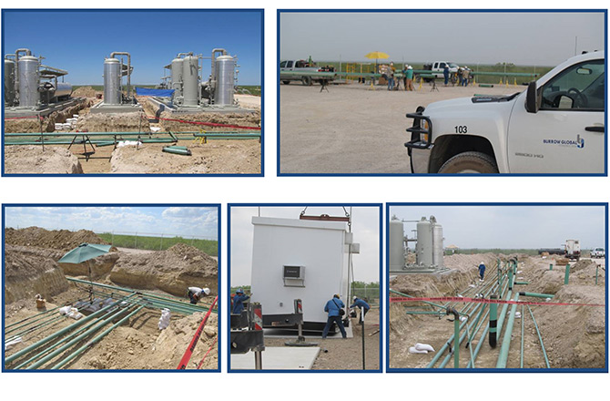Oil Stabilization Unit Construction